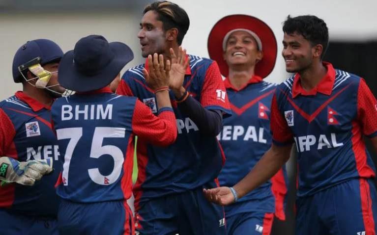 نیپالی کرکٹ ٹیم نے بھارتی ٹیم  کا غرور خاک میں ملا دیا