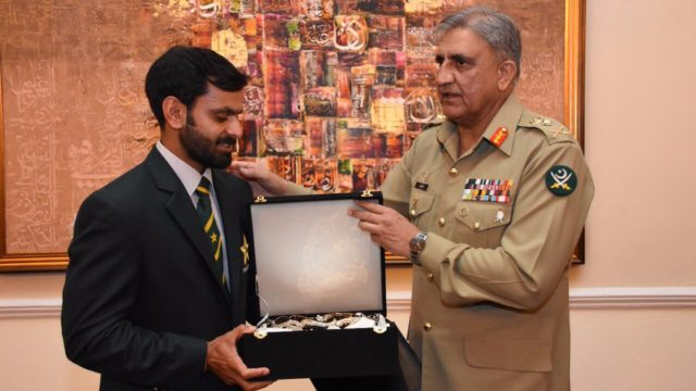 hafeez-army-chief-general-bajwa-pakistan-cricket