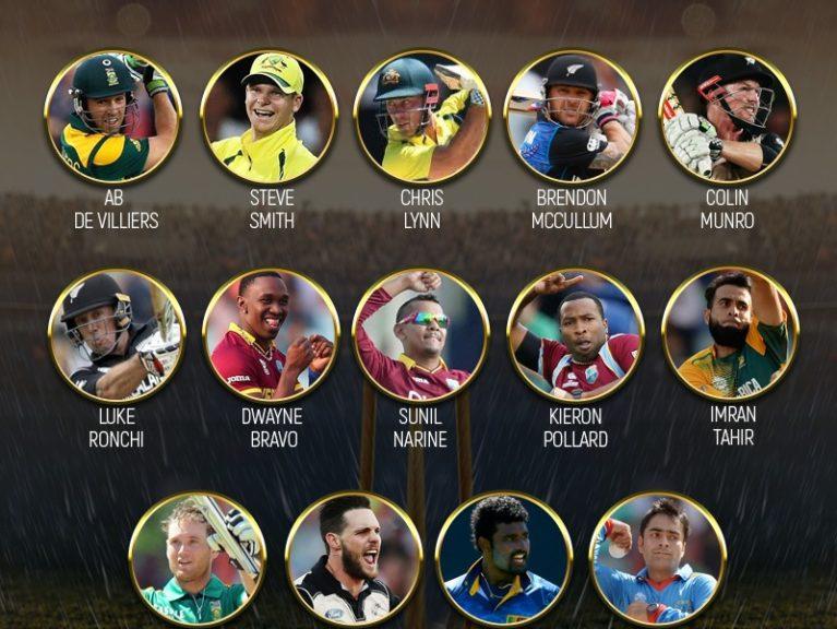 پی ایس ایل چوتھے ایڈیشن کیلئے غیرملکی کھلاڑیوں کی فہرست جاری