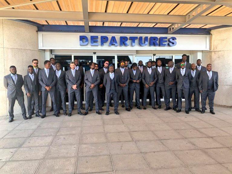 زمبابوے ٹیم دورہ پاکستان کے لیے چل پڑی