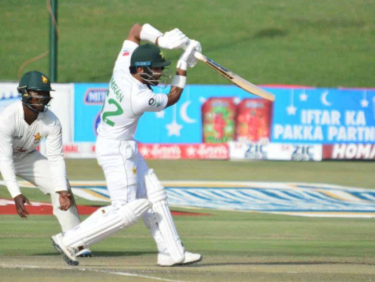 پاکستان نے دوسرے زمبابوے ٹیسٹ میں مستحکم آغاز.