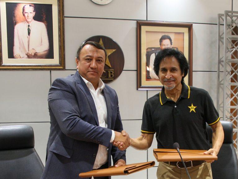 پاکستان کرے گا فروغِ کرکٹ اِن ازبکستان